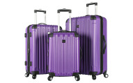 Travelers Club Madison 3 Pc Hardside Luggage Set