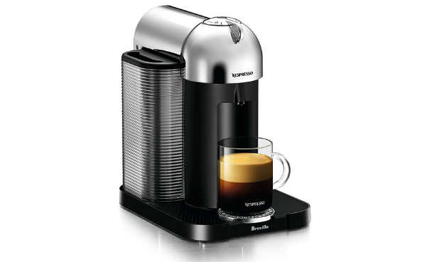 Breville BNV220CRO1BUC1Nespresso Vertuo Coffee and Espresso Machine