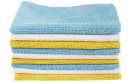 AmazonBasics Microfiber Cleaning Cloth, 24-Pack