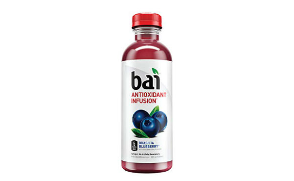 Bai Flavored Water Brasilia Blueberry Antioxidant Infused Drinks