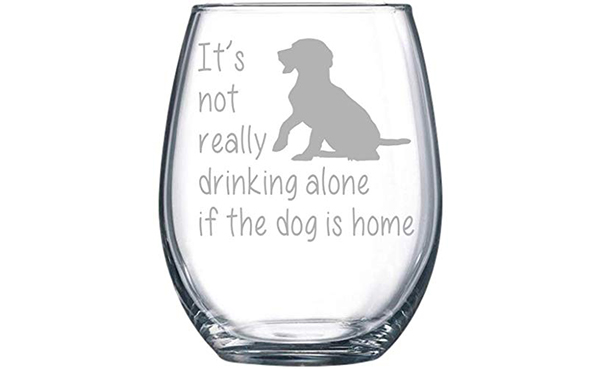 C&M Personal Gifts Wine Glass