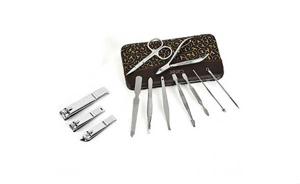 Cater Manicure Nail Clippers Set of 12Pcs