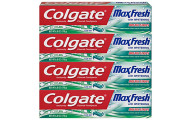 Colgate 6 Ounce Whitening Toothpaste, 4 Count