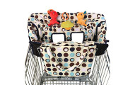 Crocnfrog 2-in-1 Shopping Cart and High Chair Cover