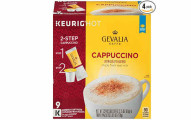 GEVALIA Cappuccino K-CUP Pods and Froth Packets