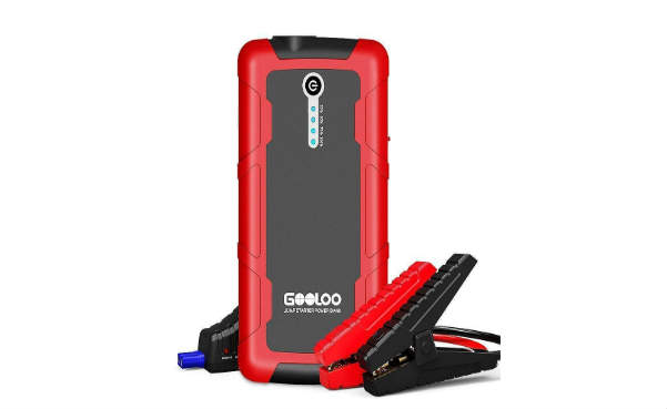GOOLOO 600A Peak SuperSafe Car Jump Starter (up to 5