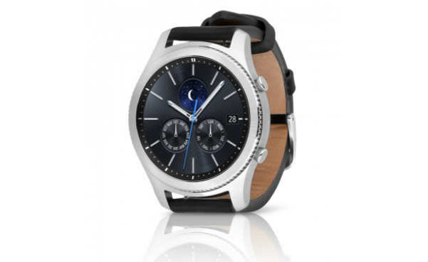 Samsung Gear S3 Classic Smartwatch w Leather Band