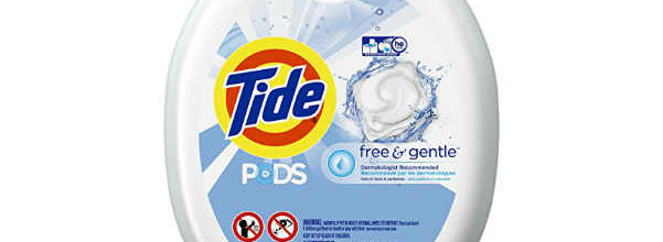 Tide PODS Free & Gentle HE Turbo Laundry Detergent Pacs