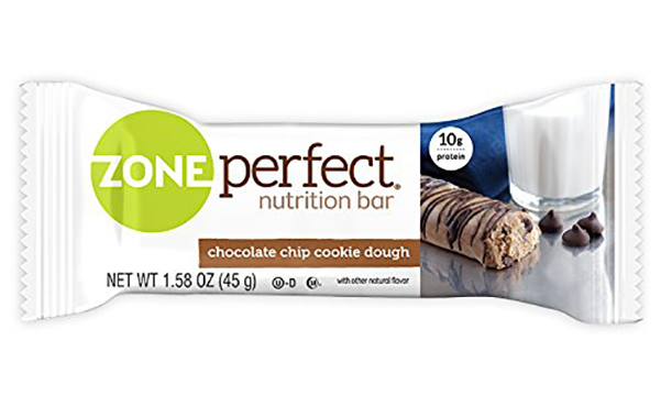 Zone Perfect Chocolate Chip Cookie Dough, 20 Count