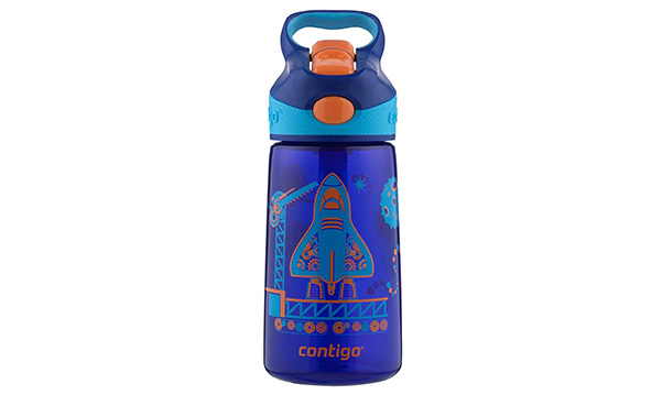 Contigo AUTOSPOUT Straw Striker Kids Water Bottle