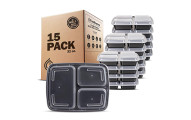Freshware Meal prep containers, 15 Pack