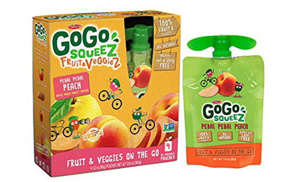 GoGo SqueeZ Fruit & VeggieZ on the Go, 12 Boxes