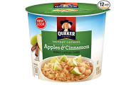 Quaker Instant Oatmeal Express Cups, 12 Cups