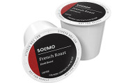 Solimo French Roast Coffee Pods, 100 Count