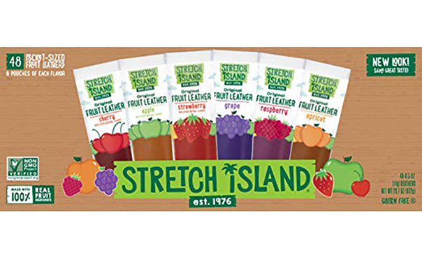 Stretch Island Fruit Leather Snacks, 48 Count