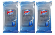 Windex Electronics Wipes, Pack of 3