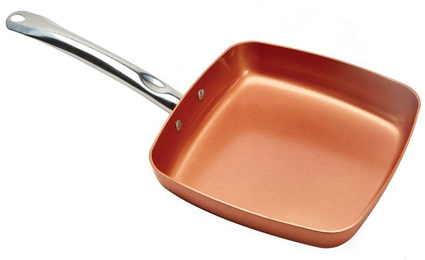Copper Chef 9.5 Inch Square Frying Pan