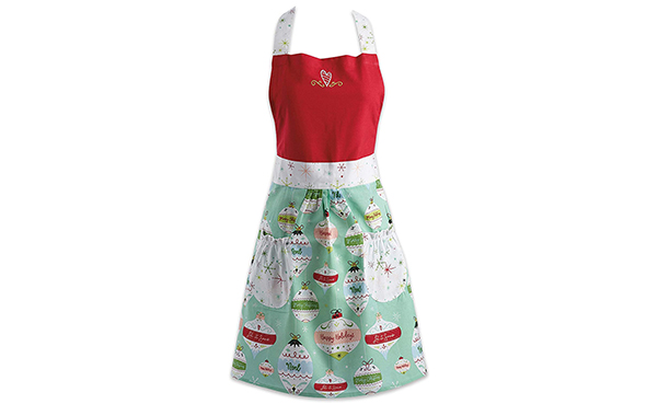 DII Cotton Chistmas Women Apron Dress