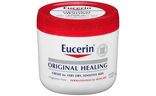 Eucerin Original Healing Rich Creme, Pack of 2