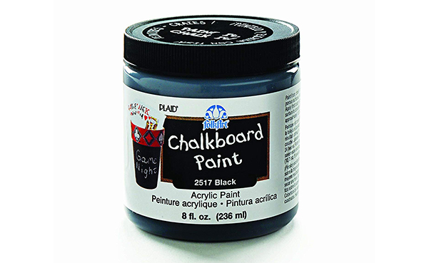 FolkArt Chalkboard Paint in Black
