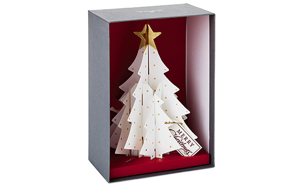 Hallmark Pop Up Christmas Tree Boxed Cards
