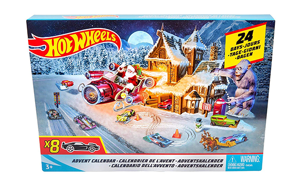 Hot Wheels Advent Calendar