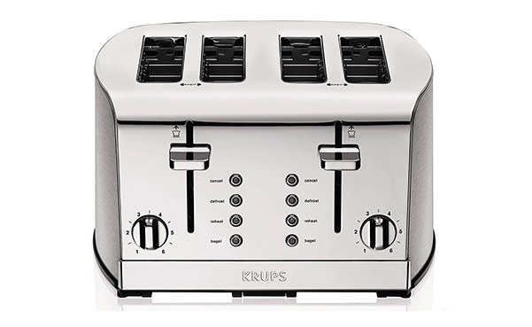 KRUPS Breakfast Set 4-Slot Toaster