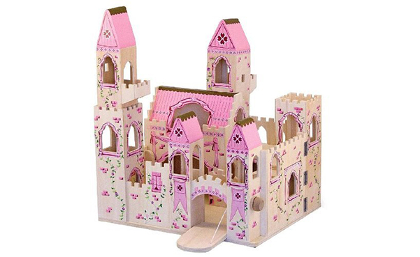 Melissa & Doug Princess Castle Wooden Dollhouse