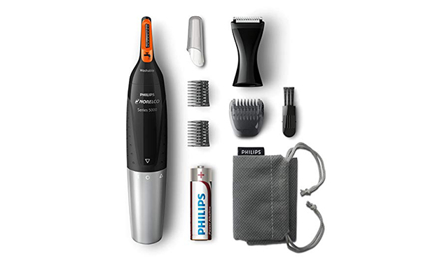 Philips Norelco Nose, Ear, and Eyebrow Hair Trimmer