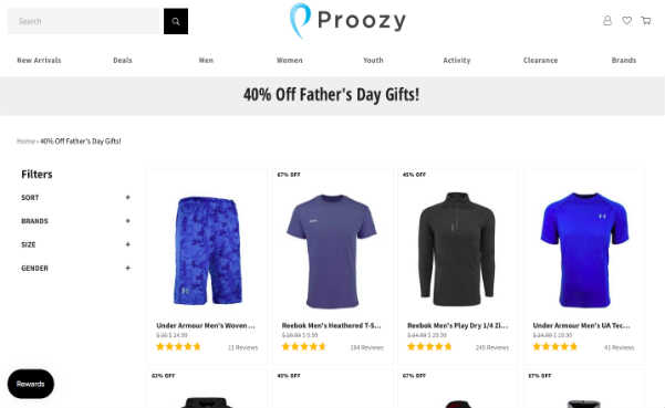 Proozy fathers day sale