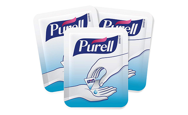 Purell Advanced Hand Sanitizer Singles, 125 Count