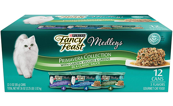 Purina Fancy Feast Adult Wet Cat Food Variety Pack