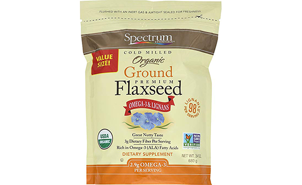 Spectrum Essentials Organic Ground Flaxseed
