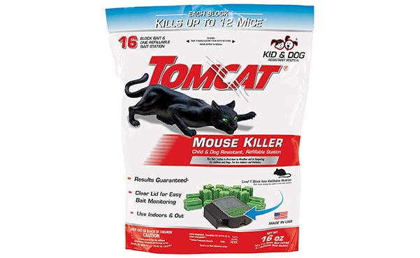 Tomcat Mouse Killer Refillable Station
