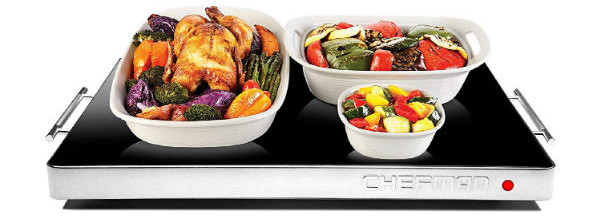 chefman-electric-warming-tray-adjustable-temperature-control-large-21-16- black