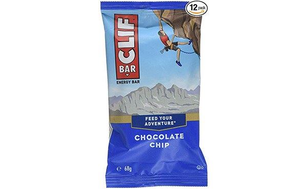 CLIF Chocolate Chip Energy Bar, 12 Count
