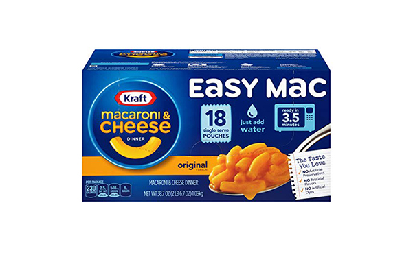 Kraft Easy Mac Original Macaroni and Cheese Dinner
