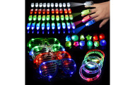 LED Light Up Toys Glow in The Dark, 60 Pieces