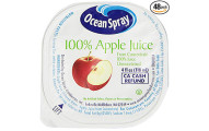 Ocean Spray Apple Juice, Pack of 48