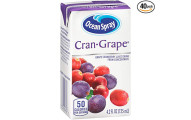 Ocean Spray Cran-Grape Juice Drink, Pack of 40