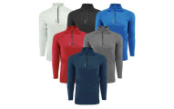 Reebok Men's Play Dry Zip Jacket 3-Pack