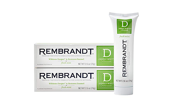 Rembrandt Deeply White Toothpaste, 2 Pack