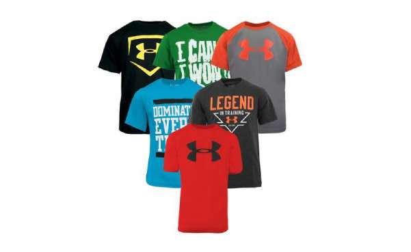 Under Armour Boy's New Year T-Shirt 5-Pack