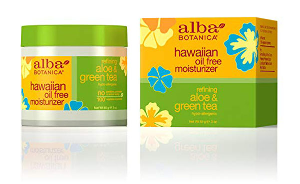 Alba Botanica Aloe & Green Tea Moisturizer, Pack of 2