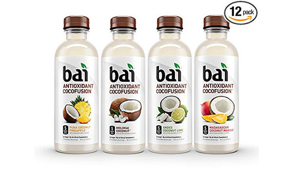 Bai Coconut Flavored Water, 12 Count