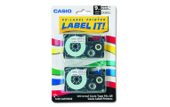 Casio 9mm Labeling Tape, 2-Pack