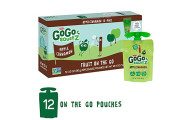 GoGo squeeZ Applesauce on the Go, 12 Pouches