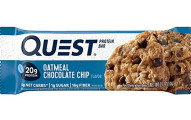 Quest Nutrition Oatmeal Chocolate Chip Protein Bar, 12 Count