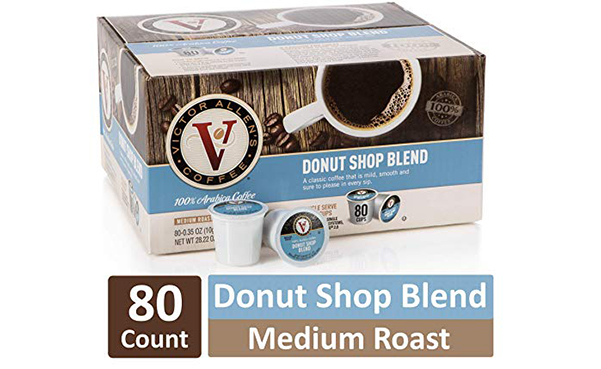 Donut Shop Blend Medium Roast Coffee K Cups, 80 Count