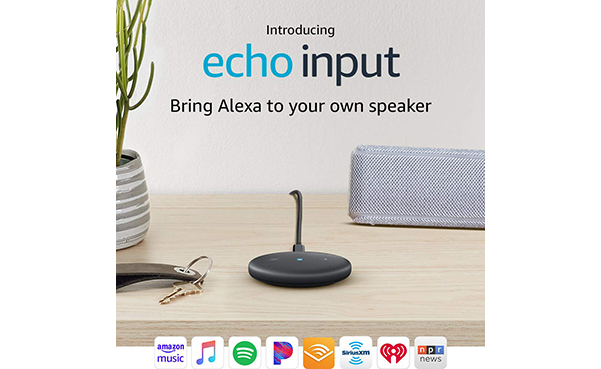 Echo Input – Bring Alexa to your own speaker